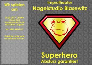 Superhero gelb-dunkel