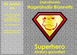Superhero gelb